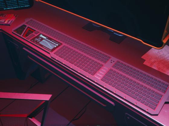 Ich brauch diese Tastatur